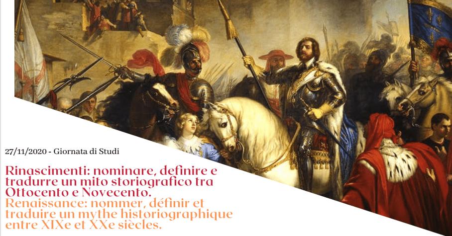 Renaissance: nommer, définir et traduire un mythe historiographique entre XIXe et XXe siècles.