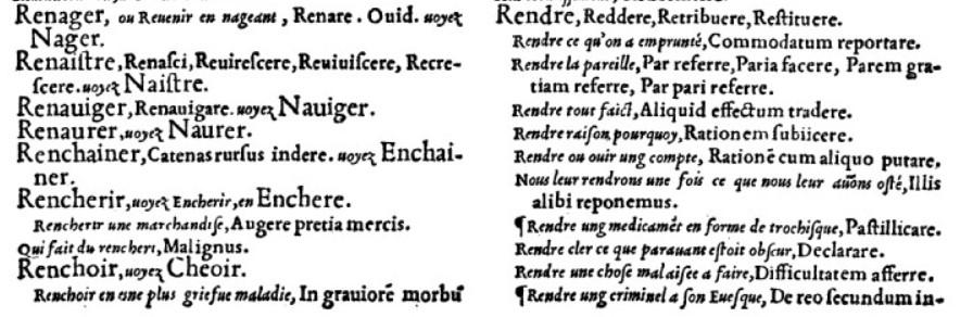 Enquête lexicographique